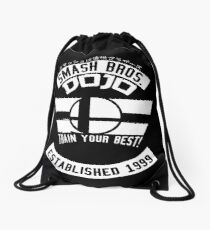 Smash Bros. Dojo Drawstring Bag