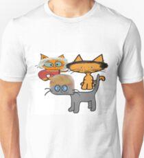 Cats Wait To Debate!  Unisex T-Shirt