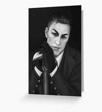 Kaz Brekker Greeting Card