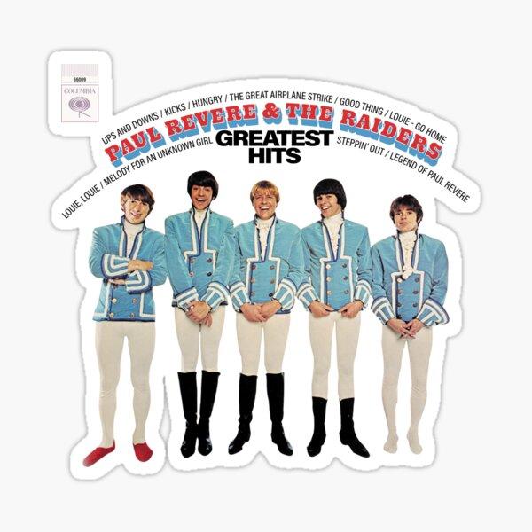 Paul Revere & The Ráídérs Greatest Hits  Sticker