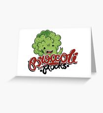 Broccoli Rocks  Greeting Card