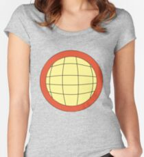 Captain Planet - Planeteer -  fire - Wheeler T-Shirt! Women's Fitted Scoop T-Shirt