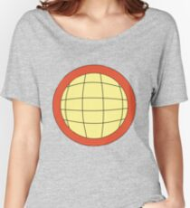 Captain Planet - Planeteer -  fire - Wheeler T-Shirt! Women's Relaxed Fit T-Shirt