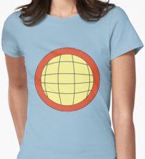 Captain Planet - Planeteer -  fire - Wheeler T-Shirt! Womens Fitted T-Shirt