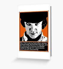 A Clockwork Orange - 8-bit Greeting Card