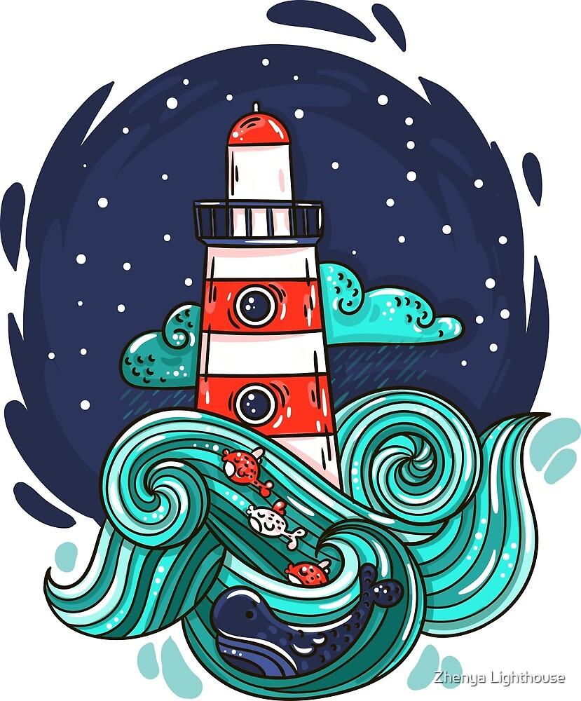 Lighthouse by evasabrekova