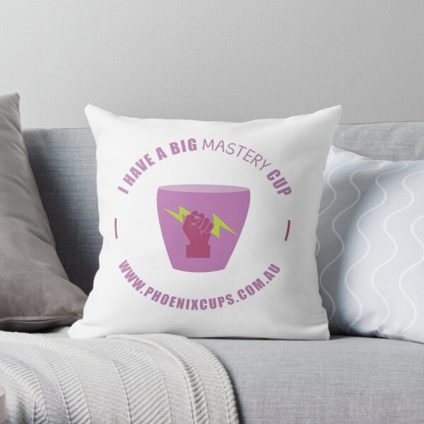 Mastery Cup Throw Pillow