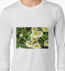 Yellow light flowers in the park. T-Shirt