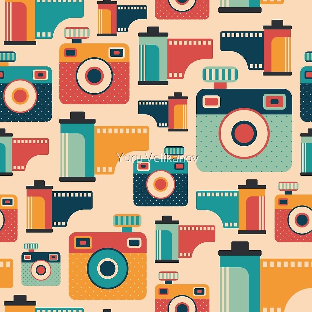 Film Rolls and Cameras by Yury Velikanov