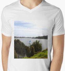 Lakes Entrance Victoria Men's V-Neck T-Shirt