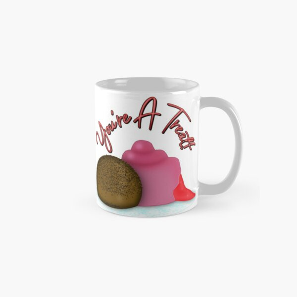 You're A Treat Filled Strawberry Valentine's Day Candy Classic Mug