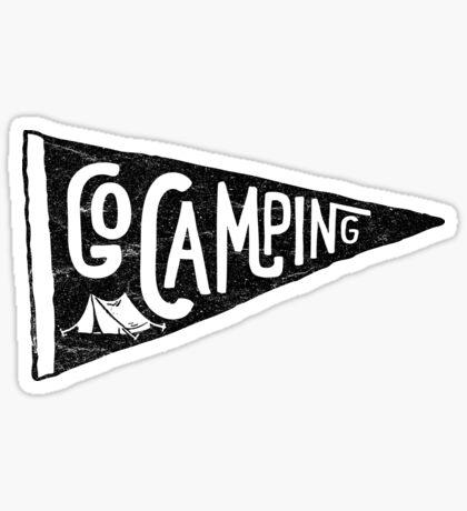 Go Camping Sticker