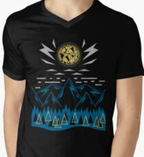 Sun Strike Over the Mountains T-Shirt