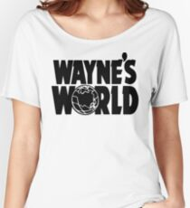 Wayne's World (Inverted) Women's Relaxed Fit T-Shirt