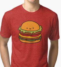 burger Tri-blend T-Shirt