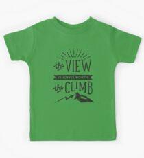 WORTH THE CLIMB Kids Clothes