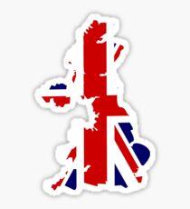 Union Jack United Kingdom Sticker Sticker