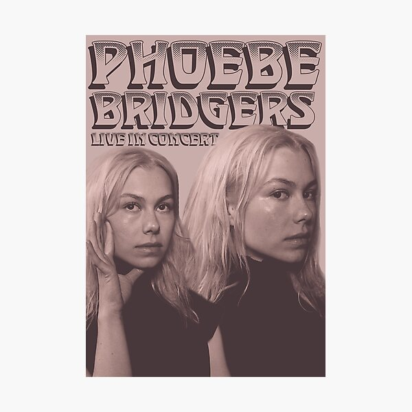 vintage phoebe poster Photographic Print