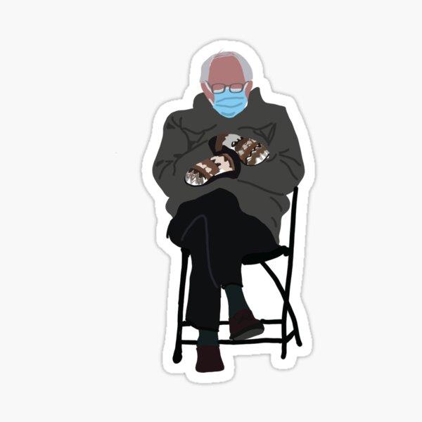 Inauguration Bernie Sanders Sticker