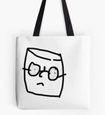 A simple marshmallow trying to live his life in peace Tote Bag