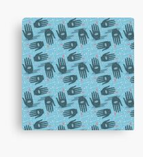 palmistry pattern Canvas Print