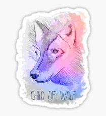 Wolf - First Aid Kit Sticker