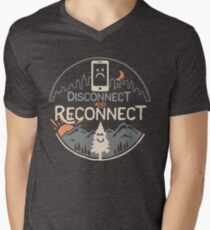 Reconnect Men's V-Neck T-Shirt