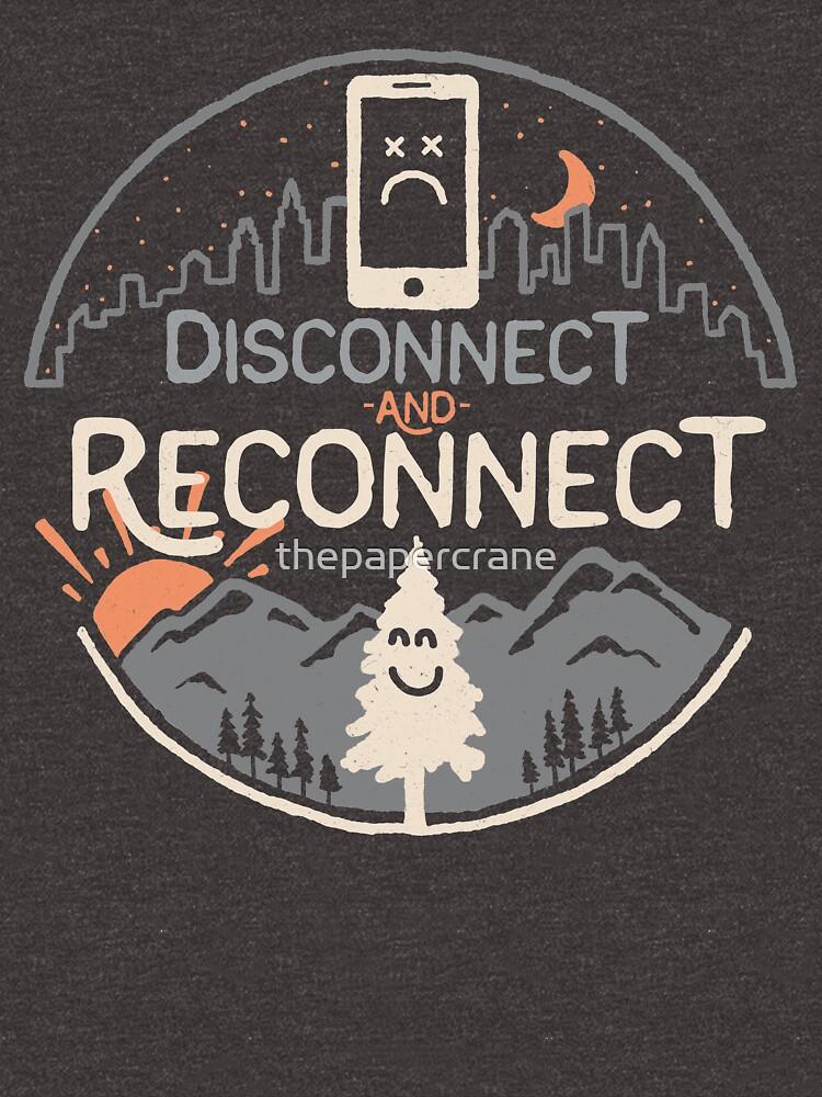 TShirtGifter presents: Reconnect | Unisex T-Shirt