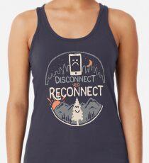 Camiseta con espalda nadadora Reconectar