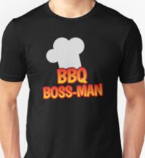 BBQ Boss man Barbecue chef T-Shirt