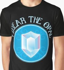 I wear the opal with OPAL Jewel Black jewels FAN ART Graphic T-Shirt