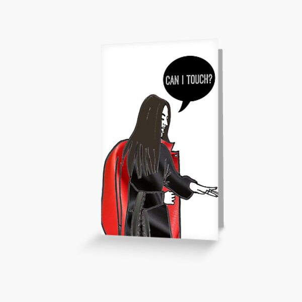 Can I Touch? Greeting Card