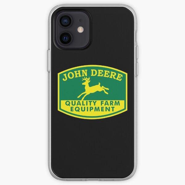 Logotipo de John Deere Funda blanda para iPhone