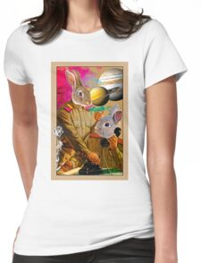 Bunny Comrades Womens Fitted T-Shirt