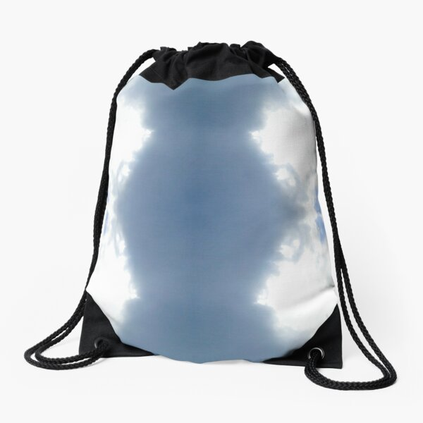 clepsydra-Through the clouds collection Drawstring Bag