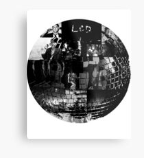 LCD Soundsystem - Disco ball Metal Print