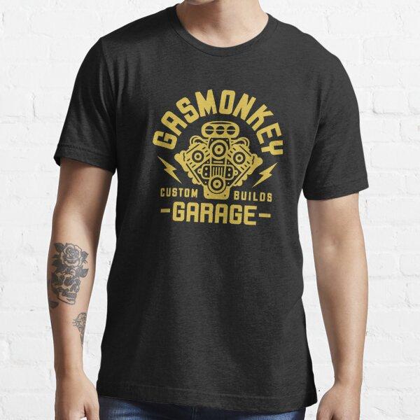 Garage à gaz Monkey T-shirt essentiel