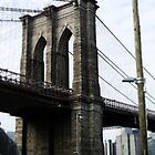 Brooklyn Bridge New York by Lee Whitmarsh