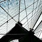 Brooklyn Bridge New York Silhouette by Lee Whitmarsh