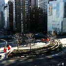 New York Columbus Circle by Lee Whitmarsh