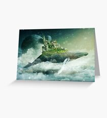 Flying Kingdoms Greeting Card