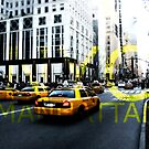 New York 5th Avenue Graphic by Lee Whitmarsh