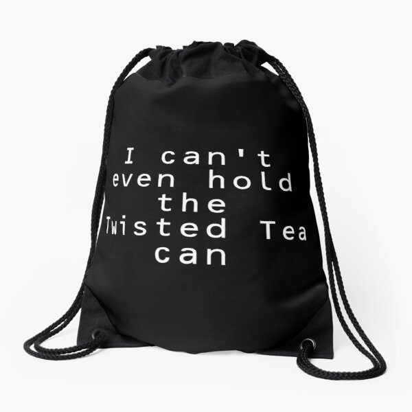Twisted Tea Meme Drawstring Bag