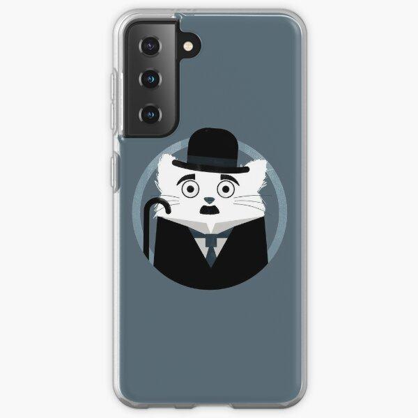 Cat Chaplin  Samsung Galaxy Soft Case