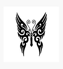 Butterfly Tribal Photographic Print
