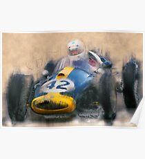 Historic Car Racing Poster