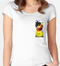 goku child Women's Fitted Scoop T-Shirt