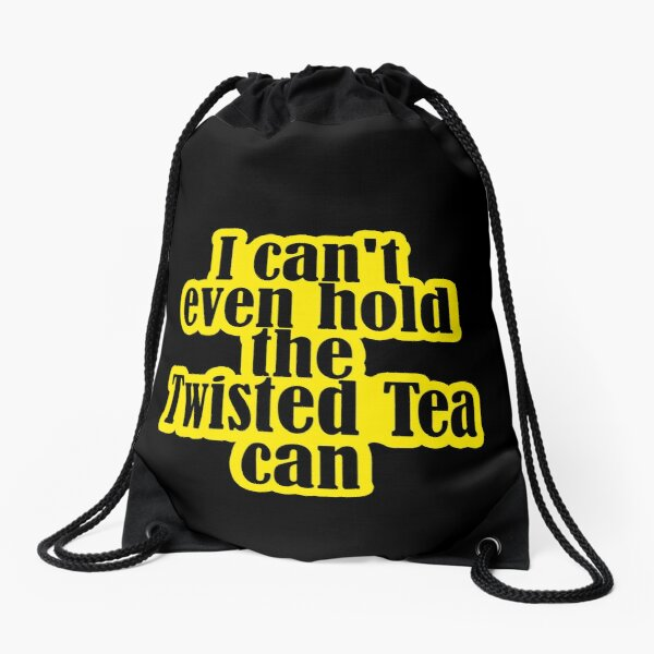 Twisted Tea Memes Drawstring Bag