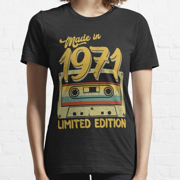 Made in 1971 limited edition birthday gift Essential T-Shirt