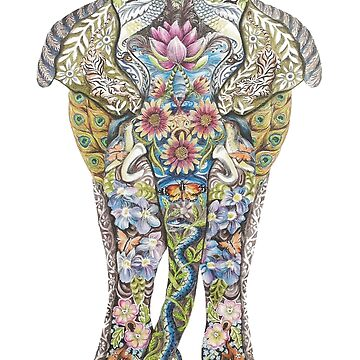 Decorated Elephant by DecorativeD